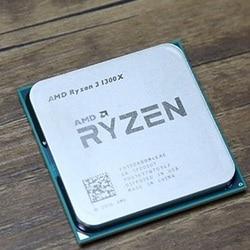 Amd Ryzen 5 1400 R5 1400 3.2 Ghz Quad-Core Cpu Processor YD1400BBM4KAE Socket AM4 Ryzen 3 1300X 1300X r3 1300X3.5 Ghz
