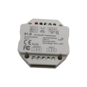 Image 3 - 卸売S1 B SS B AC100 240V rfスマートスイッチ出力 100 240VAC 1.5A 360 ワットrfスマートスイッチリレー出力ledコントローラ