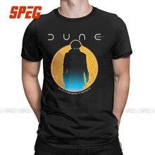 T-Shirt manches courtes à col rond pour homme, en coton, de loisirs, du film de la Science-Fiction de Dune, Frank herald, 2020