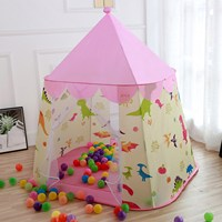 Portable Children'S Tent Toy Ball Pool Princess Girl Boy Castle Play House Toys Folding Baby Beach Tent Gifts