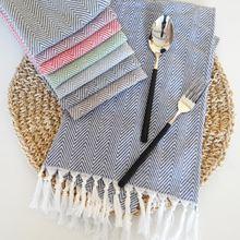 Хлопковая салфетка с волнистыми кисточками для чистки посуды