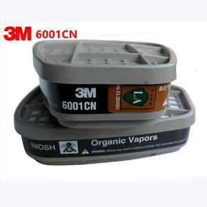 Image 1 - 3M 6001 Organic Vapor Cartridges cooperate with gas mask 3M 6200 7502 6800 together use