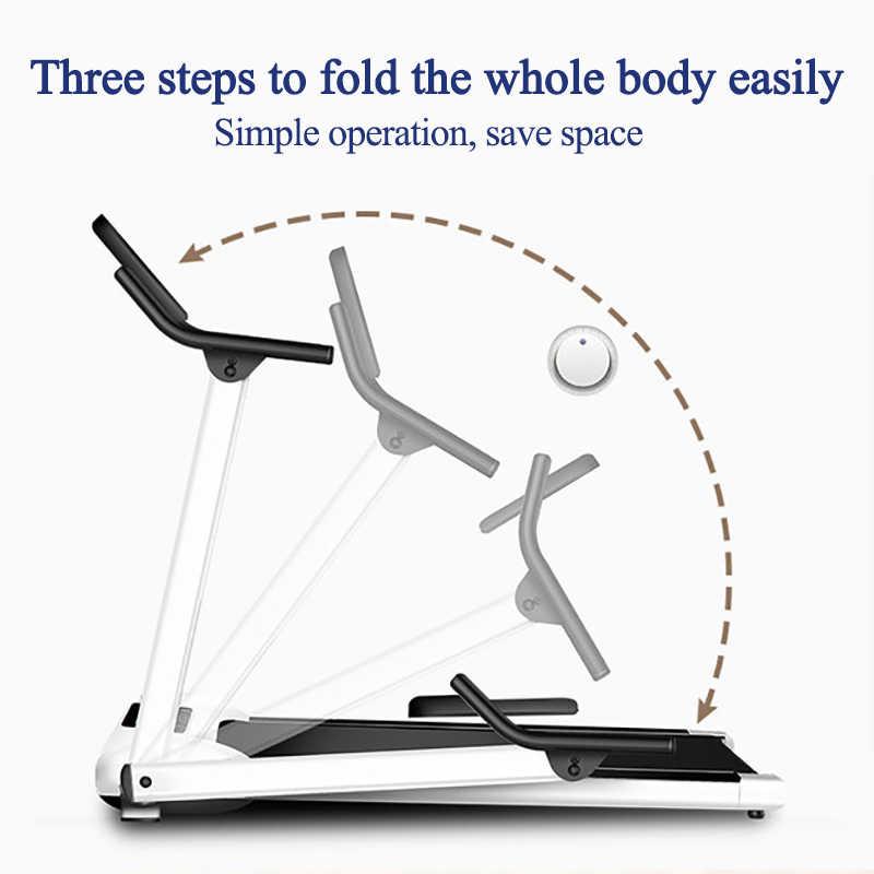 Multifungsi Lipat Berjalan Treadmill Indoor Peralatan Gym Lipat Rumah Kebugaran Mini Kebugaran Slim Mini Berjalan