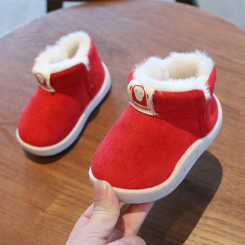 2020 Winter Baby Girls Boys Boots Infant Toddler Snow Boots Warm Plush Outdoor Boots Soft Bottom Non-slip Kids Cotton Shoes baby girls boys boots 2020 winter infant toddler snow boots warm plush outdoor boots soft bottom non slip kids cotton shoes