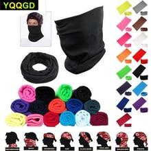 Бесшовные головные уборы, маска для лица, головная повязка, Балаклава, бандана, шарф, высокопроизводительная легкая ткань, 1 шт.
