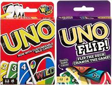 Jeux Uno originaux et Uno flop, 2 packs