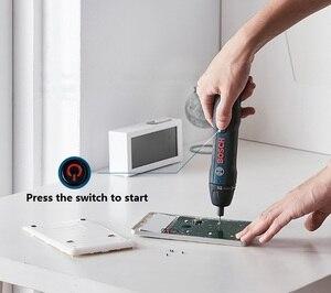 Image 5 - BOSCH GO BOSCH GO2 Мини электрическая щетка шуруповерт 3,6 V литий ионный Батарея Перезаряжаемые беспроводные Мощность дрель электрическая отвертка