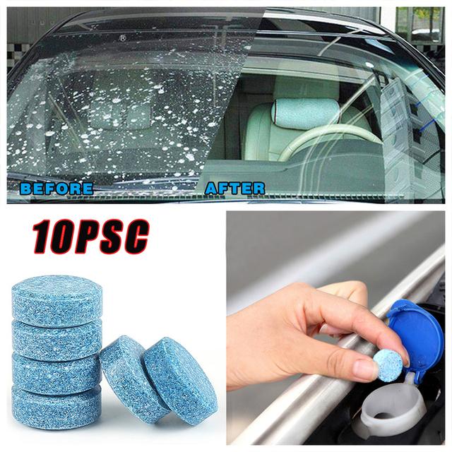 Do automatycznego i domowego czyszczenia akcesoriów samochodowych wielofunkcyjny skoncentrowany musujący Tablet niebieskie szkło płyn do szyb tanie i dobre opinie CN (pochodzenie) Nie przeciw zamarzaniu