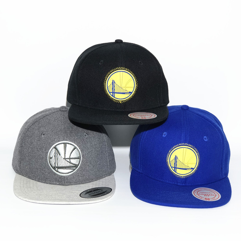 High-End Basketball Team Baseball Cap Golden State Gladiators Hat Europe And America Flat along Hat NBA Team Hip Hop Hat image