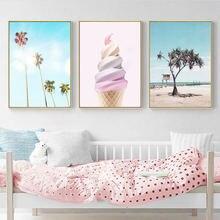Розовый декор для детской комнаты девочек феи холст картина