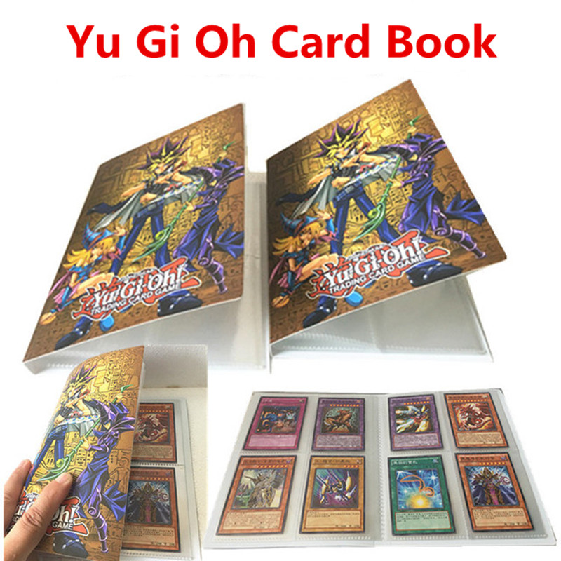 Yu Gi Oh  Card Collection Book Card Storage Finishing Anime Card Children's Toys Game Master Kids Cards Book