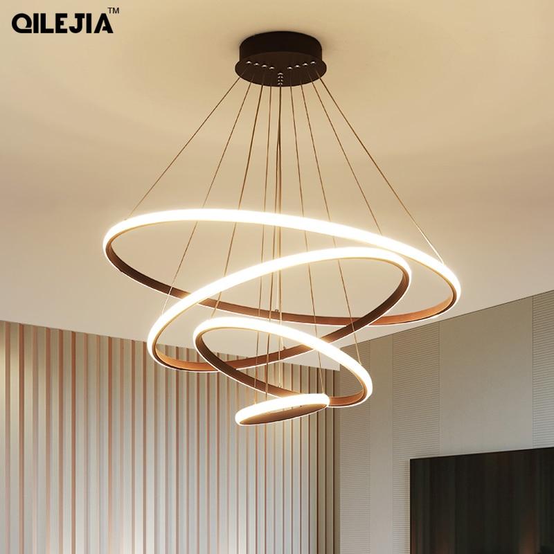 Modern pendant light For Bedroom Living Room Dining Room Office Room Fixture Creative LED Pendant Light Input 110V 220V