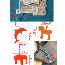Mold Blade Die-Cutting-Knife Craft Hollowed-Punch-Tool Metal Key Dolphin Hanging-Decoration