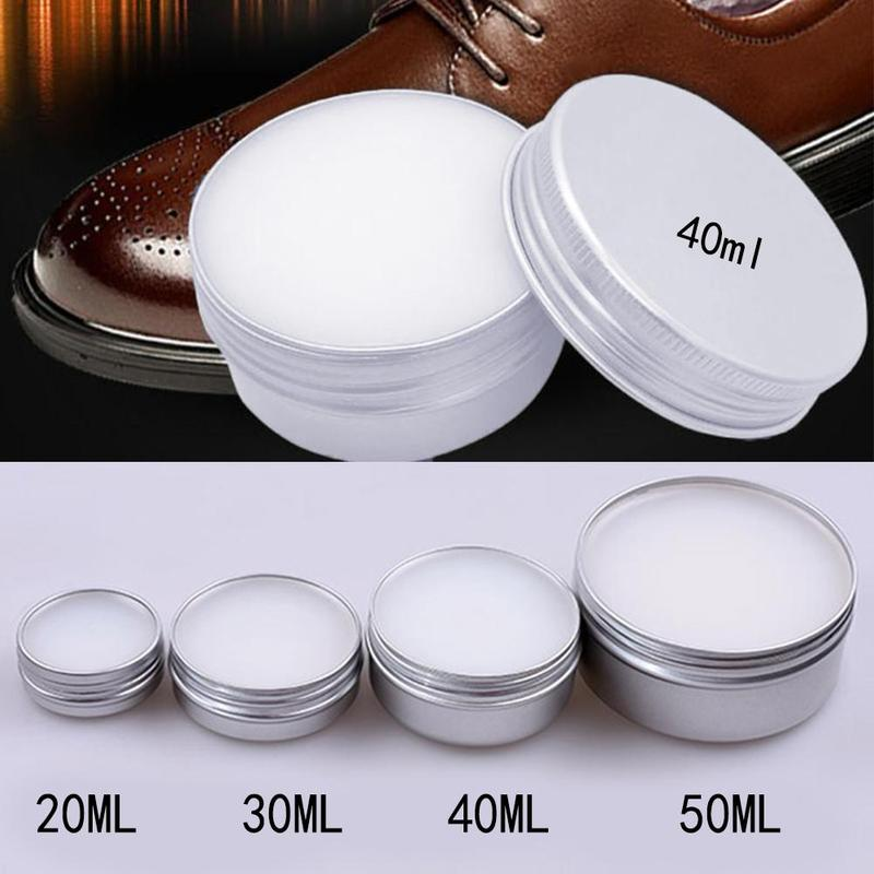 50Ml Leather Craft Repair Pure Mink Oil Cream Gel Car Seat Maintenance Shoes Bag Satchel Sofa Care Cleaner Polishing Recolor image