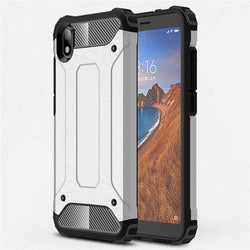 На Алиэкспресс купить чехол для смартфона for xiaomi redmi 7 7a 8 8a case shockproof armor rubber silicone hard pc case for redmi note 7 8 pro cover coque shell capa