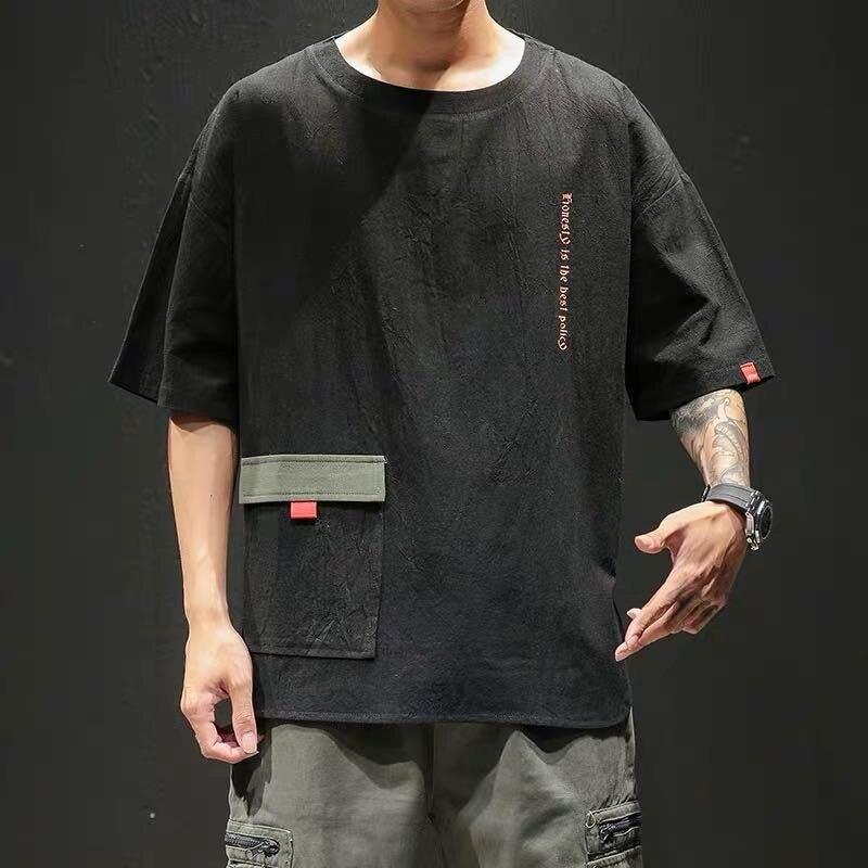 T-Shirt Men's Short Men Hip-Hop 7XL Young Plus-Size 5XL 9XL 6XL 8XL Summer Sleeved Loose