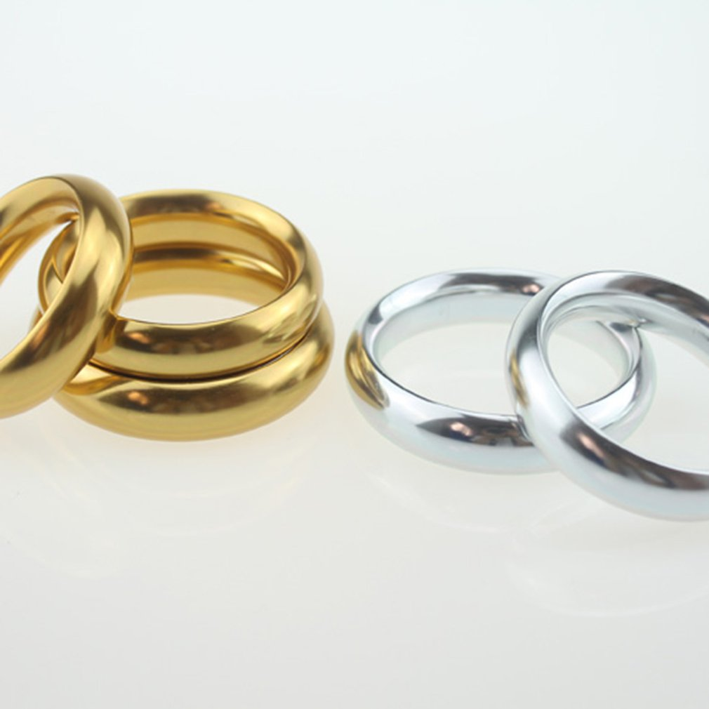 40 45 50mm Aluminum Alloy Penis Training Ring Cock Delay Ejaculation Time Ring Colored Metal Ring