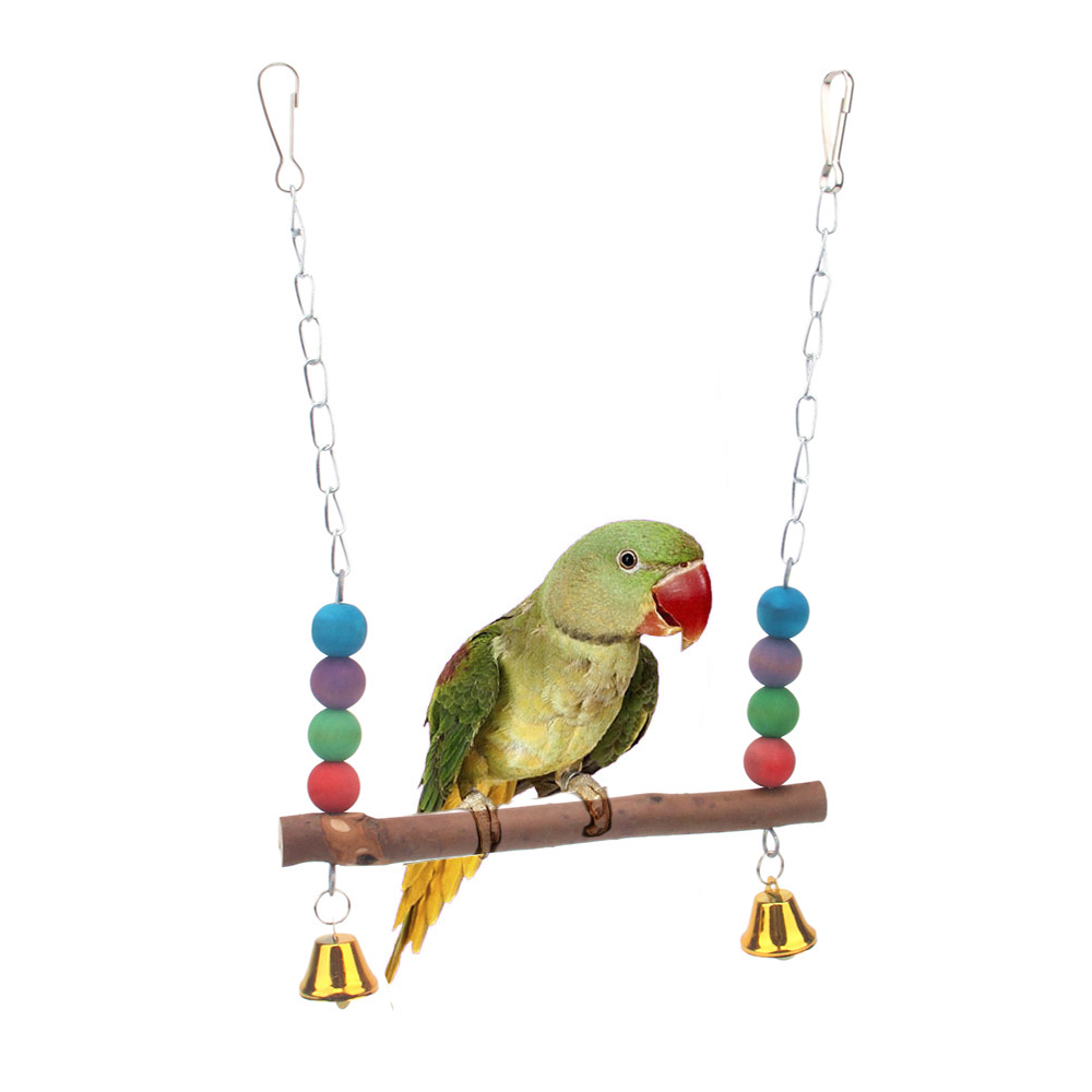 PipiFren Parrots Toys And Bird Accessories For Pet Toy Swing Stand Budgie Parakeet Cage African Grey vogel speelgoed parkiet