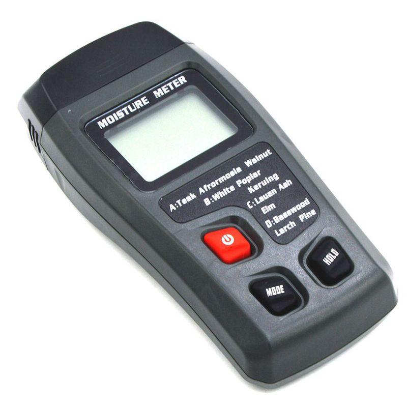 Digital Moisture Meter Moisture Meter Tester Water Moisture Content MT 10 Wood Damp Detector Tester Hygrometer LCD Display|PH Meters| |  - title=