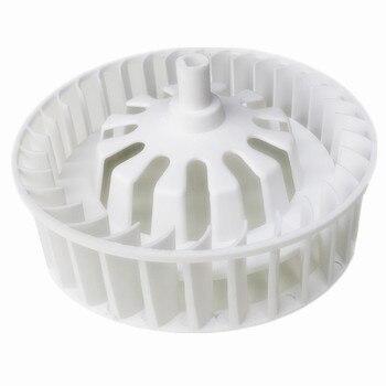 2pcs exhaust fan motor parts fan blade ventilator motor vanes bathroom master motor accessories wheel blade motor impeller 1pcs 4 blades plastic fan blade for hair dryer fan parts