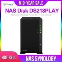 Synologia nas, estação de disco dsembalplay 2-bay, servidor nfs, armazenamento de rede, estação de disco nas 2 anos de garantia