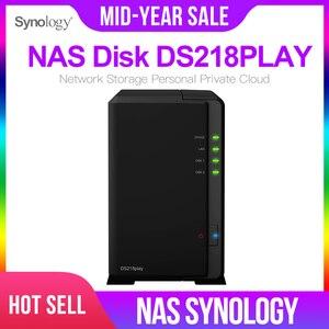 Image 1 - Synology の Nas ディスクステーション DS218play 2 ベイディスクレス nas サーバー nfs ネットワーク収納クラウドストレージ NAS ディスクステーション 2 年保証