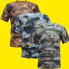 Camouflage T-Shirt S...