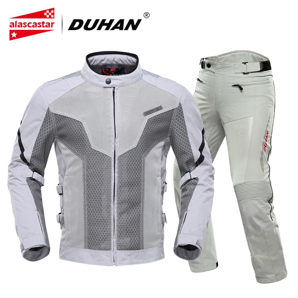 DUHAN été Moto veste hommes respirant Chaqueta Moto veste maille équitation veste Moto avec protecteur amovible
