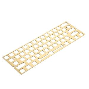 Image 1 - Aluminum Brush Finish Steel Brass ANSI Anodized Positioning Board Plate Plate mounted Stabilizers For GH60 PCB GK61 Hot Swap PCB