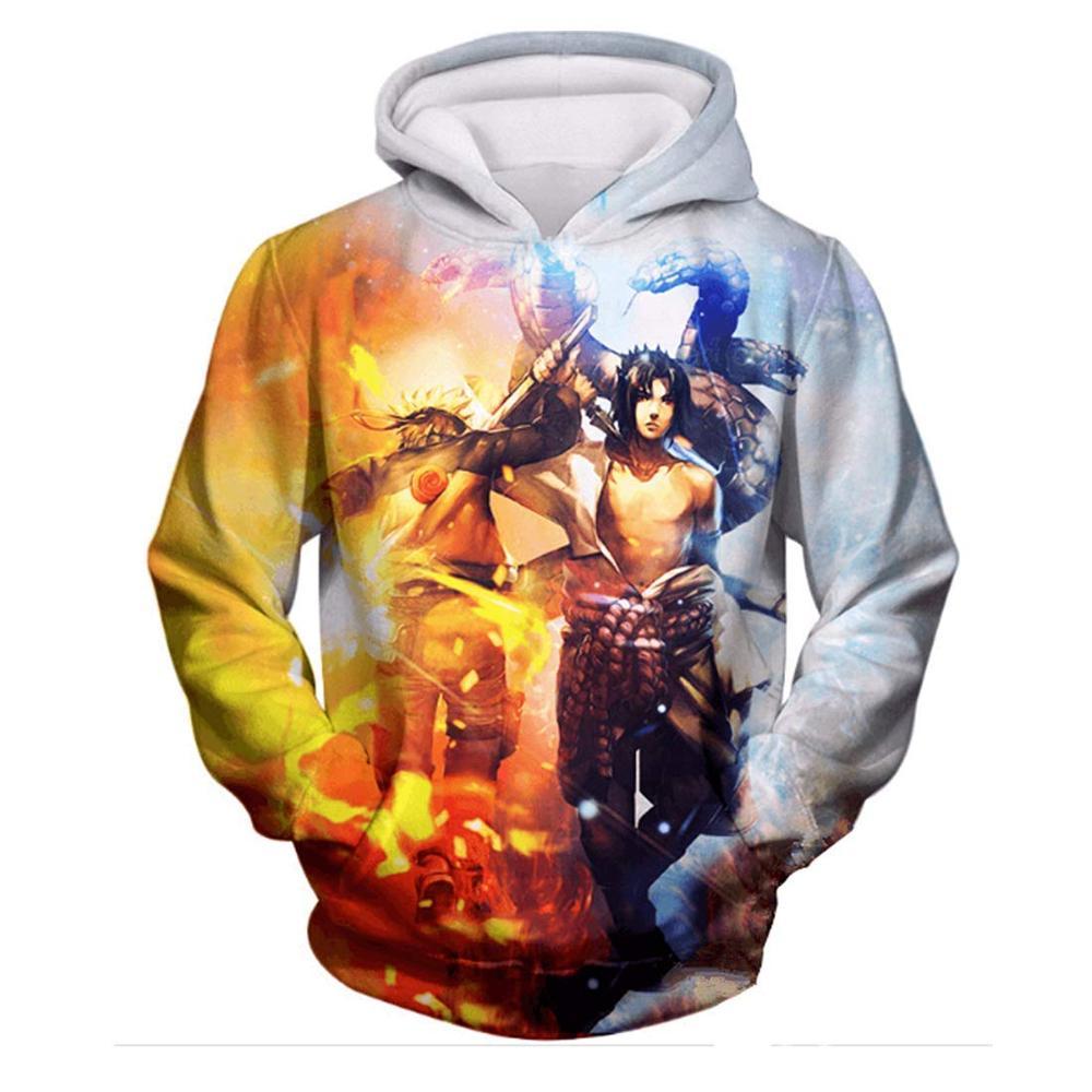 New Naruto Series 3D Print Hoodies Men Pullovers Anime Sasuke Uchiha Women Hoody Casual Sweatshirt Streetwear Harajuku Coat Tops