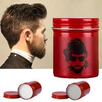 Matte Hair Styling Wax Fresh Natural Moisturizing Long-Lasting Hair Finishing Gel Cream Styling Tool Men Hair Clay Color SC54