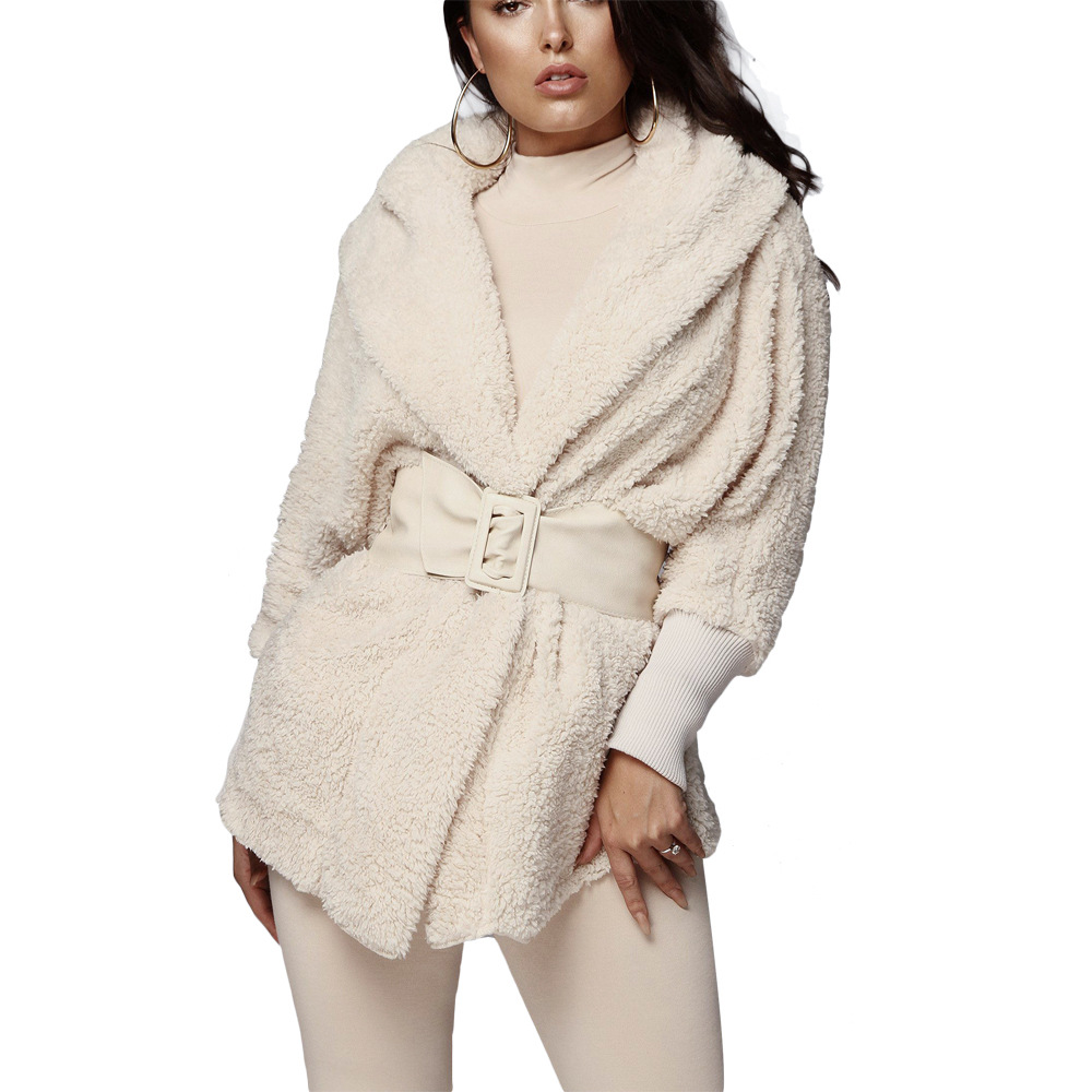 Echoine Women Two-piece Sets Plush Casual Sports Long-sleeved Jacket + Shorts Suits Female Tracksuit Autumn Winter Casual Ladies