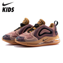 Nike Air Max 720 Kids Shoes Original New Arrival Children Running Shoes Comfortable Sports Air Cushion Sneakers #AO9294-700(China)