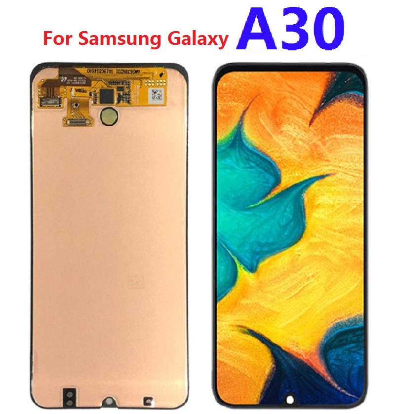 For Samsung Galaxy A30 SM-A305F A305F/DS A305FN LCD Display Touch Screen Digitizer Sensor Assembly Replacement