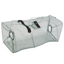 Складная сетка для ползания портативная клетка ловли креветок