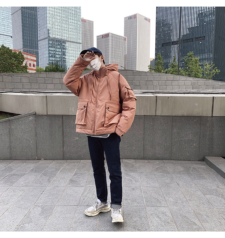 Men's Quality Student Winter Clothes Jacket Men Parka Thick Warm Outwear Korean Youth Streetwear Hip Hop Japan Style Harajuku 15