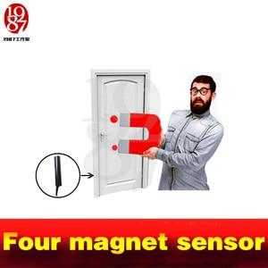 Image 5 - タングラムゲームは、ツールの小道具 4 マグネット同時にバージョンリリースロック実生活部屋脱出パズルオープン磁気ロック