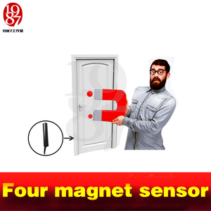 Image 5 - Tangram game props tools four magnet Same time version to release lock real life Room Escape puzzles open the magnetic lock