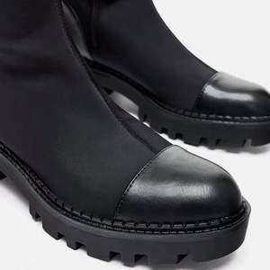 Image 4 - 2020 Slim למתוח לייקרה הברך גבוהה מגפי פלטפורמת חורף מגפי נשים ארוך מגפי חורף נעלי נשים גרב מגפי מעל את הברך מגפיים