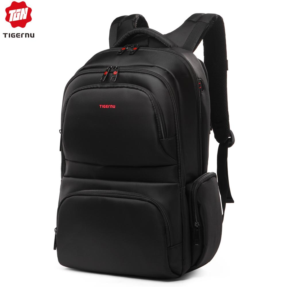 Tigernu marca à prova dwaterproof água 15.6 Polegada portátil mochila lazer mochilas escolares sacos dos homens mochila para adolescentes meninas