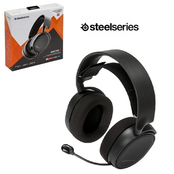 SteelSeries Arctis 3 Headset Gamer 7.1 Surround Audio S1 Video Game Headphone Mic ClearCast Stereo PS4 Xbox ONE Nintendo Switch