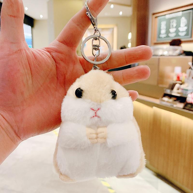 Kawaii Cute Hamster Keychain
