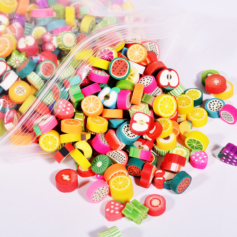 100 Pcs Cute Fruit Cuisine Shape Rubber Eraser Student Learning Stationery For Child Creative Gift Kids Eraser Novelty Erasers