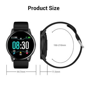 Image 5 - Cobrafly Smart Watch Men Women 1.3 Inch Screen Fitness Tracker Heart Rate Monitor IP67 Waterproof Band for Xiaomi Samsung Huawei