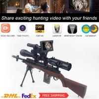Megaorei 2  Riflescopes 720P HD Night Vision Scope Hunting Optics Camera Wildlife night Vision Device With Laser IR
