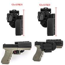 Glock – étui pour pistolet tactique, niveau 3, ouverture rapide, pour droitier 17 19 22 34