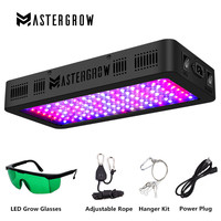 Full Spectrum 300/600/800/900/1000/1200/1800/2000W LED Grow Light 410 730nm for Indoor Plants and Flower Greenhouse Grow Tent