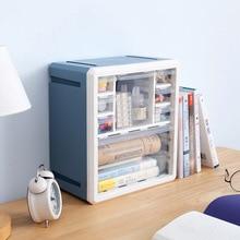Combinable DIY Drawer Desk Organizer Desktop Storage Box Cosmetic Storage Organizer Makeup Organizer Stationery Jewelry Case