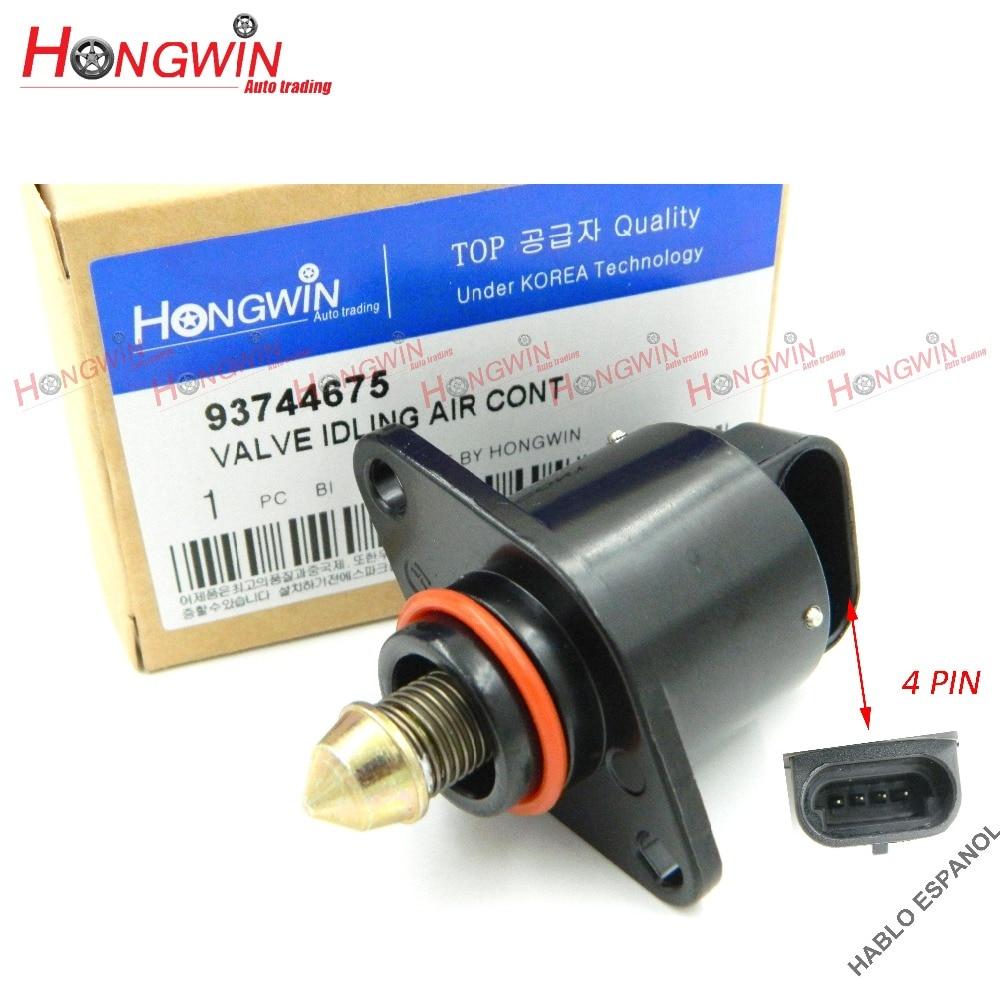 Zawór sterujący jałowym powietrzem pasuje do Chevrolet Aveo Pontiac Wave 1.6L 04-08 OEM 93744675/17059602/AC167/96434613