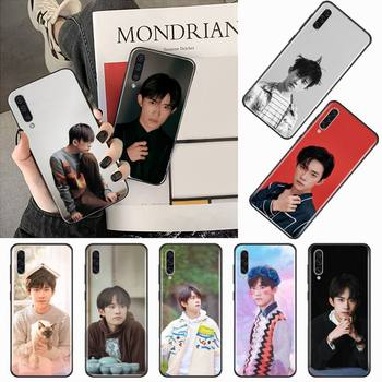 TFBOYS Jackson Yee Boy group Phone Case For Samsung galaxy S 9 10 20 A 10 21 30 31 40 50 51 71 s note 20 j 4 2018 plus image